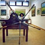 Il torchio a stella per la stampa delle matrici e Giuliana Consilvio